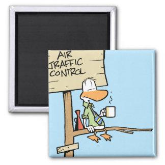 Air Traffic Contol Duck Fridge Magnet