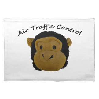 Air Traffic Control Accounts Department.Funny Gift Cloth Placemat