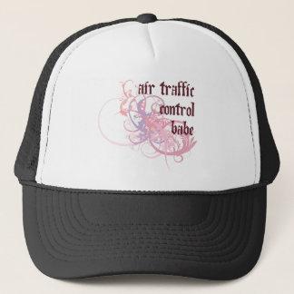 Air Traffic Control Babe Trucker Hat