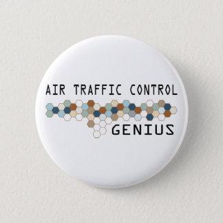 Air Traffic Control Genius Pinback Button