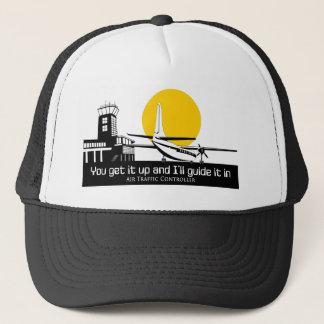 Air traffic control hat. trucker hat