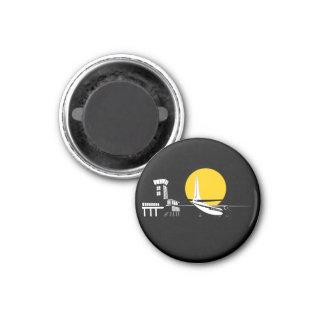 Air traffic control pin magnet