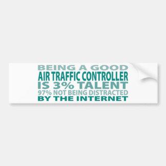Air Traffic Controller 3% Talent Bumper Sticker