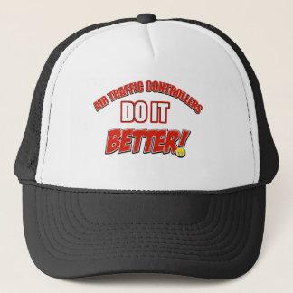 Air Traffic Controller designs Trucker Hat