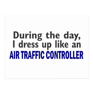 AIR TRAFFIC CONTROLLER During The Day Postcard