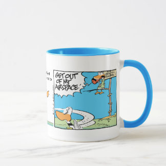 Air Traffic Controller Funny Cartoon Mug