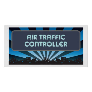 Air Traffic Controller Marquee Poster