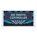 Air Traffic Controller Marquee Print