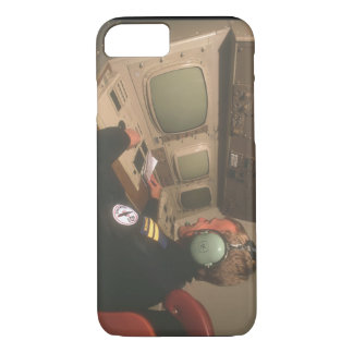 Air traffic controller_Military Aircraft iPhone 8/7 Case