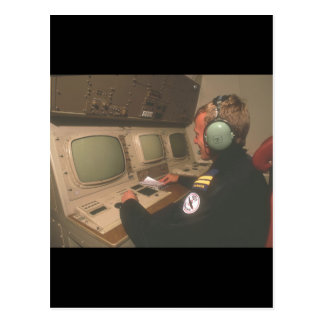 Air traffic controller_Military Aircraft Postcard