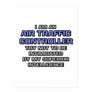 Air Traffic Controller ... Superior Intelligence Postcard