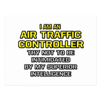 Air Traffic Controller...Superior Intelligence Postcard