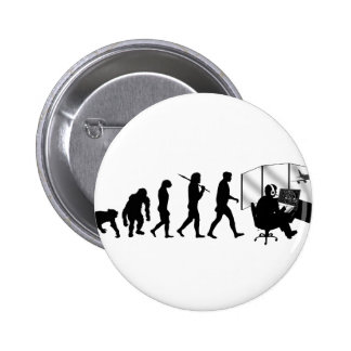 Air traffic controllers gifts tower control pinback button