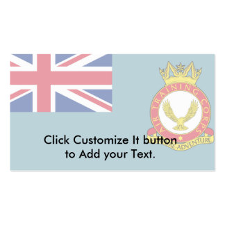 Air Training Corps, United Kingdom flag Business Card