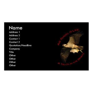 Travel Business Card Standard