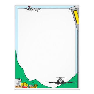 Air Travel Letterhead Customized Letterhead