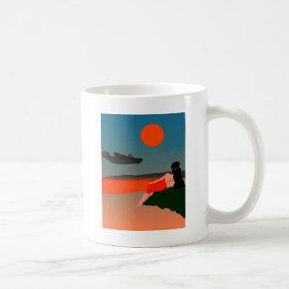 Air Travel Polynesia Coffee Mug