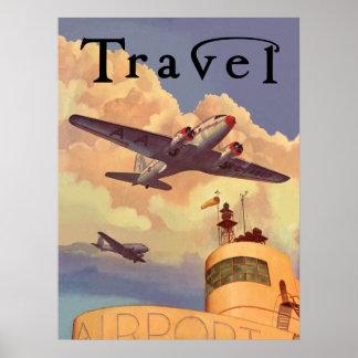 Air Travel Poster