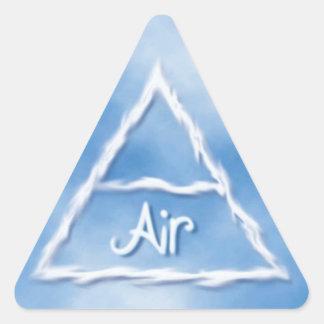 Air Triangle Sticker