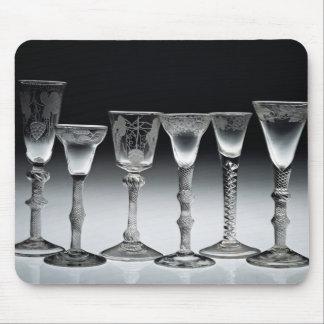 Air-twist glasses, 1750-60 mouse pad