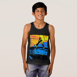 """""""Air Walking!""""  High Flying Scooter Tank Top"""
