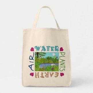 Air, Water, Plants, Earth Bag