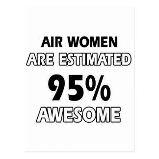 Air women designs postcard