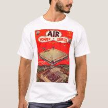 Air Wonder Stories v01 n01 (1929-07.Stellar)_Pulp T-Shirt