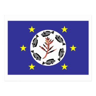 Airai Flag Postcard
