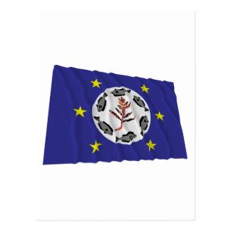 Airai Waving Flag Postcard