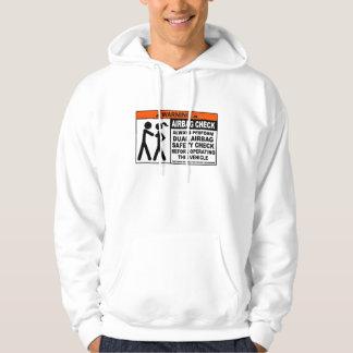 Airbag check hoodie