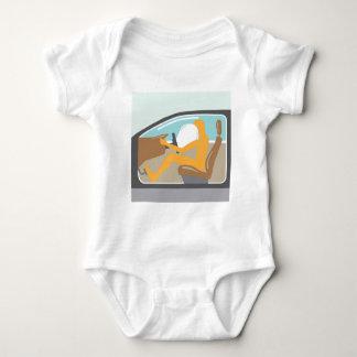 Airbag On Baby Bodysuit