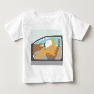 Airbag On Baby T-Shirt