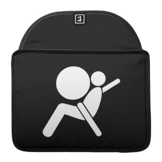 Airbag Pictogram MacBook Pro Sleeve