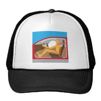 Airbag Seat belt works Trucker Hat