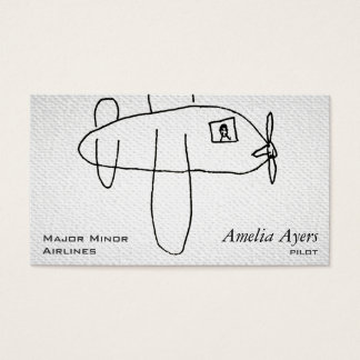 Airbeep Textured Look Business Card