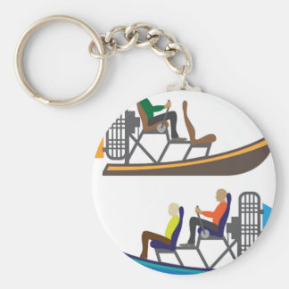 AirBoat Keychain