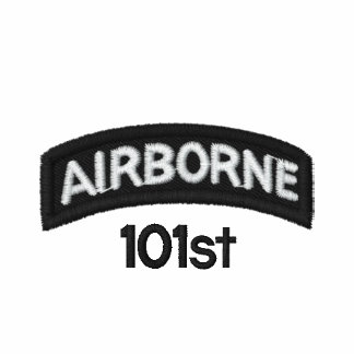 Airborne 101st embroidered shirts