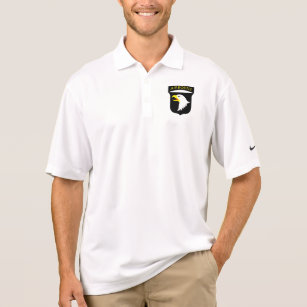 Airborne 101st Screaming Eagles Polo Shirt 28be8d9e0