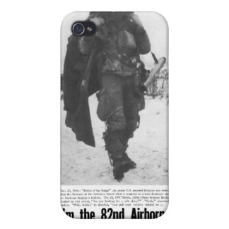 Airborne as far as the bastards are going,82d iPhone 4 cases