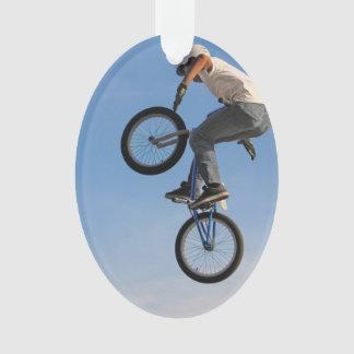 Airborne BMX Jump Ornament