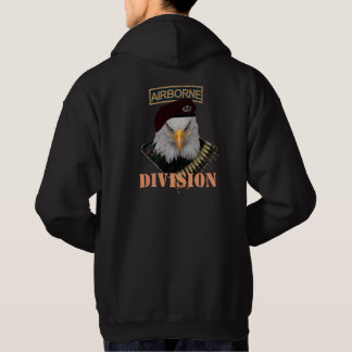 Airborne division Army military eagle cover Hoodie
