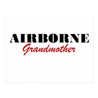 Airborne Grandmother Postcard