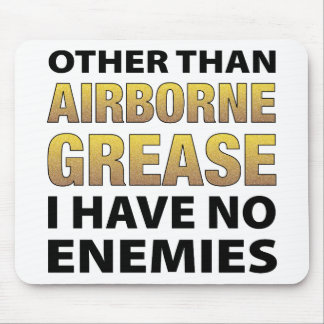 Airborne Grease Mouse Pad