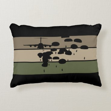 Airborne Jump Accent Pillow