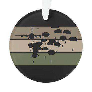 Airborne Jump Ornament