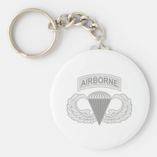 Airborne Jump Wings Keychain