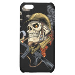 Airborne Military Skeleton Smoking a Cigar Bombers iPhone 5C Cover