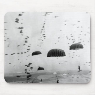 Airborne Mission During WW2 Painting Mouse Pad
