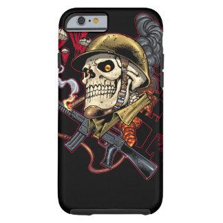 Airborne or Marine Paratrooper Skull with Helmet Tough iPhone 6 Case